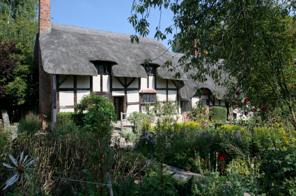 Anne Hathaway's  Cottage Near Stratford-Upon-Avon
