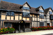 Shakespeare's birthplace at Stratford-on-Avon
